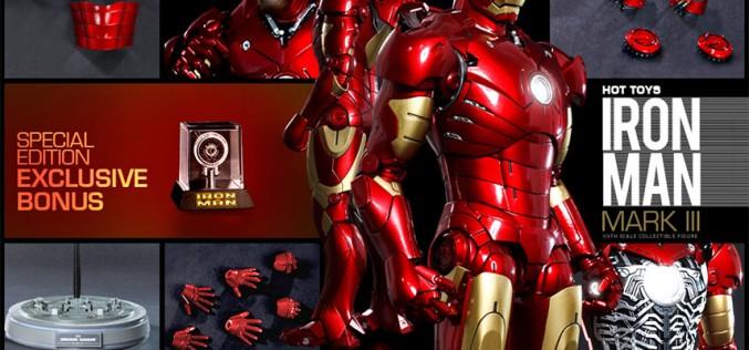 Hot Toys Iron Man Mark III Sixth Scale Figure Pre-Orders Go Live