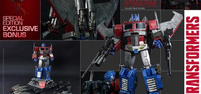 Hot Toys Transformers Optimus Prime (Starscream Version) Pre-Orders Go Live
