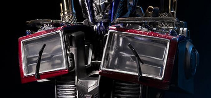Optimus Prime Final Battle Version Transformers Bust Pre-Orders Go Live