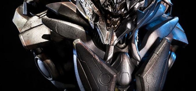 Megatron Final Battle Version Transformers Bust Pre-Orders Go Live