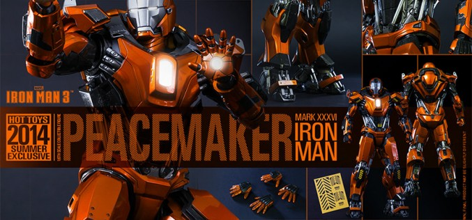 Hot Toys Iron Man Mark XXXVI – Peacemaker Sixth Scale Figure