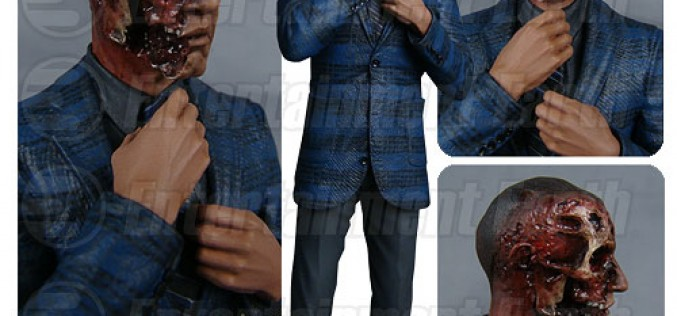 Breaking Bad Gus Fring Burned Face Action Figure