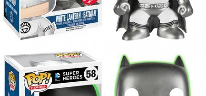 Funko Announces Exclusive White Lantern Batman Pop! Vinyl Figures