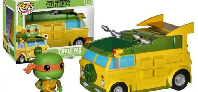 Funko Announces Teenage Mutant Ninja Turtles Turtle Van Pop! Ride