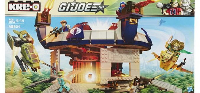 "G.I. Joe Kre-O Terror Drome Set A8604 Pre-Orders At Toys ""R"" Us"