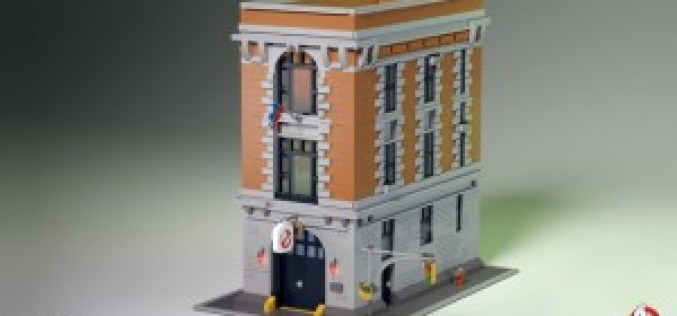 LEGO Ideas Ghostbusters Firehouse Gets Official LEGO Comment