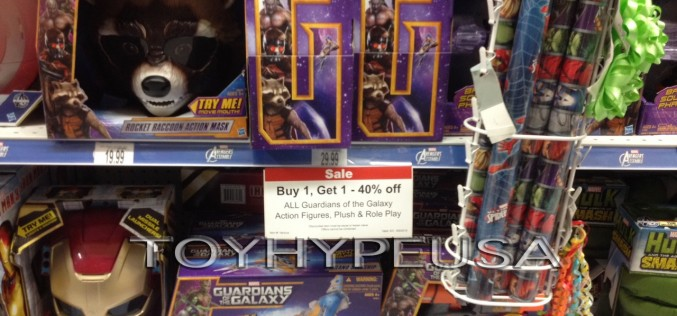 "Guardians Of The Galaxy Buy 1, Get 1 40% Off At Toys ""R"" Us"