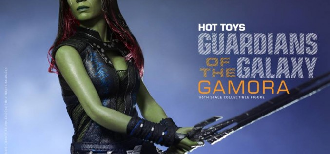 Hot Toys Reveals Guardians of the Galaxy Sixth Scale Gamora Collectible Figure