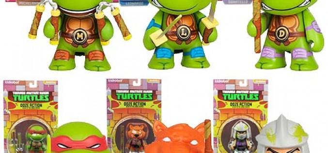 Entertainment Earth Update – Kidrobot Teenage Mutant Ninja Turtles Ooze Action Mini-Figure Set In Stock