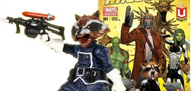 Marvel Digital Comics Unlimited Exclusive Marvel Legends Rocket Raccoon Figure Announced