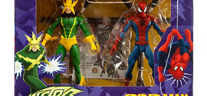 Marvel Select Spider-Man & Electro Exclusive Box Set Available To Order