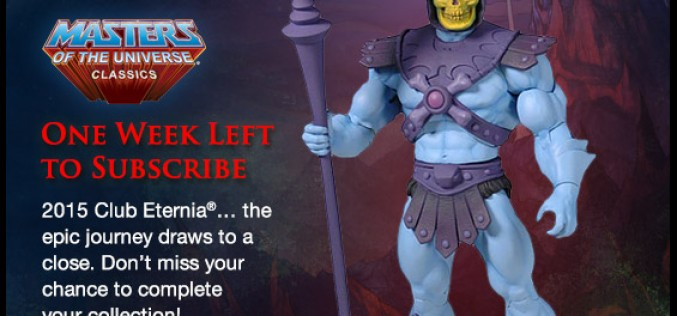 Masters Of The Universe Classics Subscription Sales End 1 Week