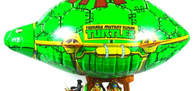 Nickelodeon Teenage Mutant Ninja Turtles Turtle Blimp Review
