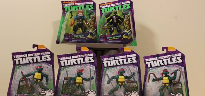 Playmates Toys TMNT Comic Book Turtles, Tiger Claw, & Robotic Foot Soldier Now Shipping