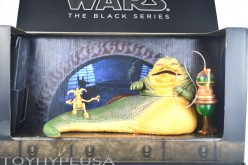 SDCC 2014 Exclusive Star Wars The Black Series Jabba The Hutt's Throne Room Review