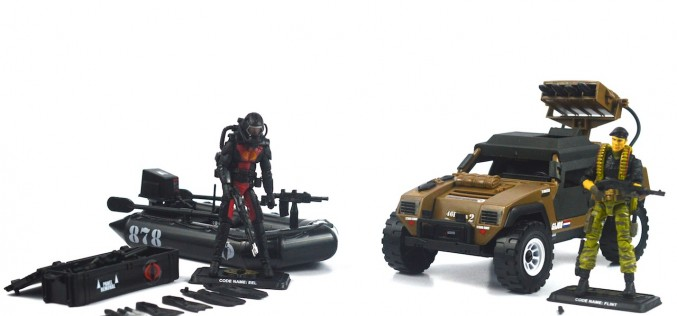 "SDCC 2014 Toys ""R"" Us Exclusive G.I. Joe Danger At The Docks Review"