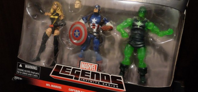 Target Exclusive Marvel Legends 3-Pack Shows Up On Ebay