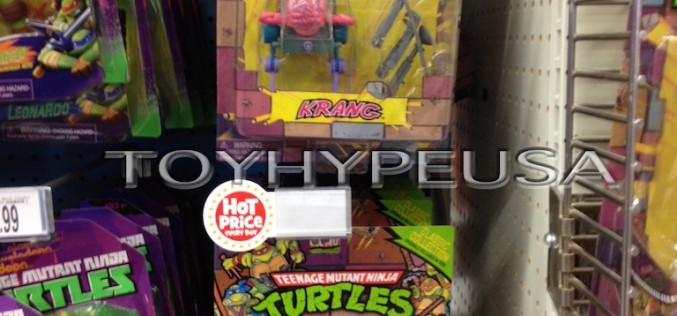 "Toys ""R"" Us Teenage Mutant Ninja Turtles Classic Collection Kraang & Foot Soldier Found"