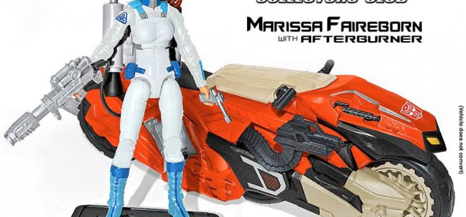 Transformers Collectors' Club Marissa Faireborn & Afterburner Crossover Figure Update