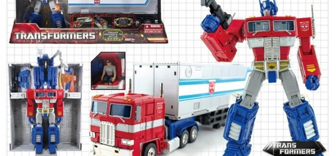 Transformers Masterpiece Optimus Prime Reissue With Trailer, Spike Witwicky Minifigure & More