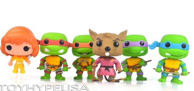 Wishlist Wednesday – Funko Teenage Mutant Ninja Turtles Pop! Vinyl Figures