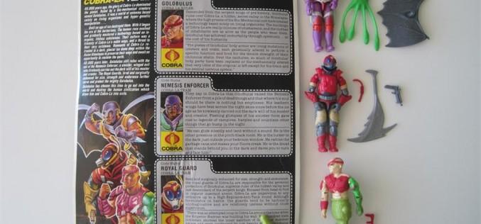 Wishlist Wednesday – G.I. Joe Collectors' Club Figure Subscription Service Cobra-La Royal Guard & Golobulus