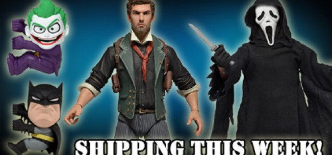 NECA Shipping This Week –  Booker DeWitt, Ghost Face, And Full-Size Scalers!