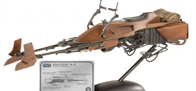 Star Wars Speeder Bike Sixth Scale Figure Pre-Orders Now Available