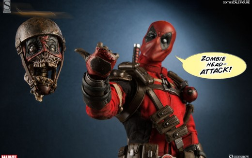 Sideshow's Deadpool Sixth Scale Figure Pre-Orders Now Live