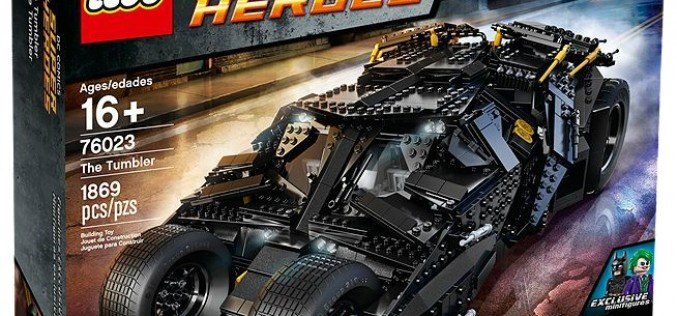 LEGO Officially Releases DC Super Heroes The Tumbler 76023