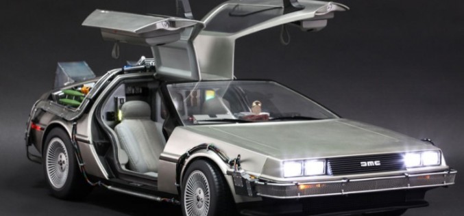 Hot Toys Back To The Future DeLorean Sixth Scale Figure Pre-Orders