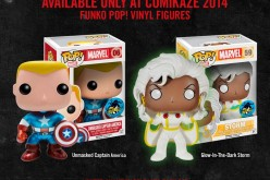 Comikaze 2014 Glow In The Dark Storm And Metallic Unmasked Captain America Exclusives