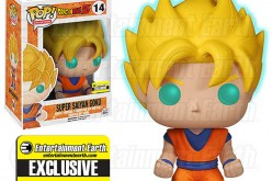 Funko Dragon Ball Z Glow-In-The-Dark Super Saiyan Goku Pop! Vinyl Figure