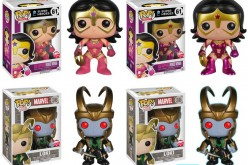 Funko NYCC 2014 Exclusive FugitiveToys Star Sapphire Wonder Woman And Loki