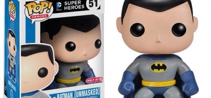 Funko Announces Target Exclusive Unmasked Batman Pop Vinyl Figure