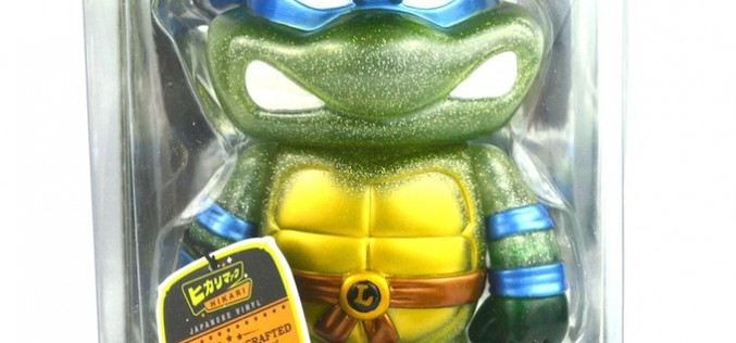 Funko Teenage Mutant Ninja Turtles Clear Glitter Leonardo Hikari Sofubi Vinyl Figure Image Gallery