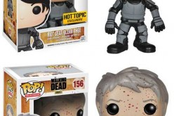 Funko The Walking Dead Riot Gear Glenn And Bloody Carol Pop! Vinyl Figure Exclusives