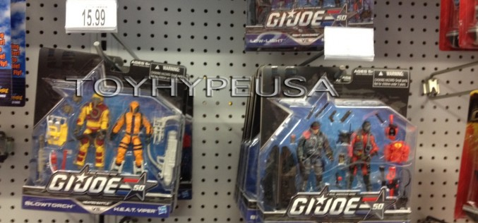 "G.I. Joe 50th Anniversary Price Hikes At Toys ""R"" Us"