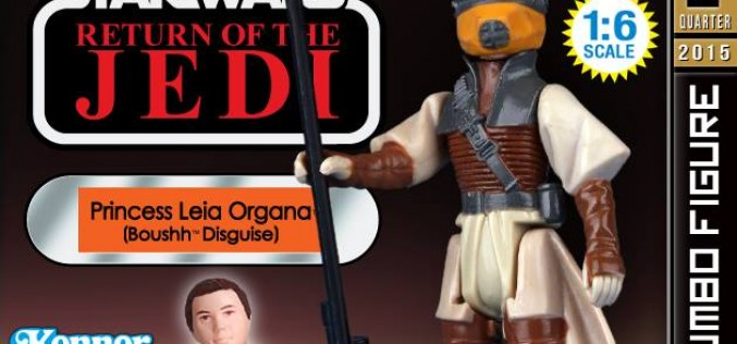 Gentle Giant Ltd. Leia Boushh Jumbo Kenner Figure