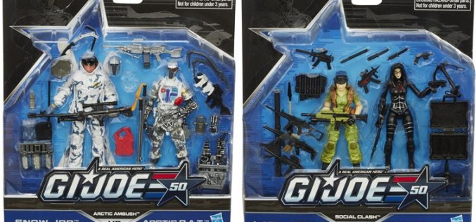 BigBadToyStore Update – G.I. Joe 50th Anniversary Versus Two Pack Wave 2 Pre-Orders