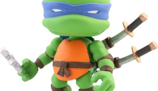 Teenage Mutant Ninja Turtles 3″ Tall Vinyl Figures From The Loyal Subjects