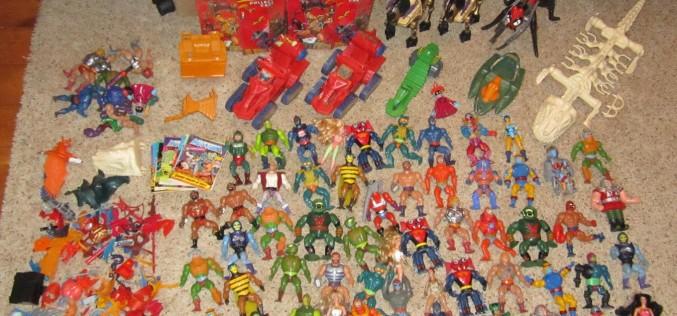 Nerd Rage Toys Update – Surplus Vintage Lots – G.I. Joe, MOTU, Ghostbusters & More