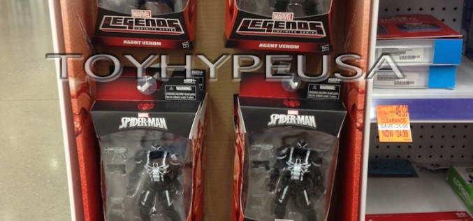 Marvel Legends Spider-Man Infinite Series Agent Venom Now At East Coast Walgreens