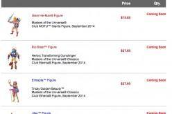 Mattycollector 9/15 Sale Reminder: DCU, Ghostbusters, MOTUC, MOTU Giants