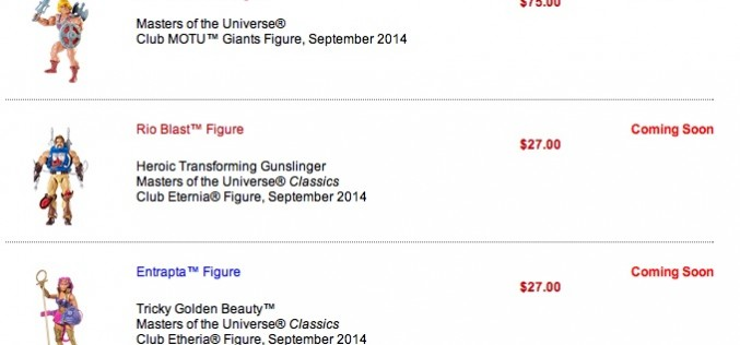 Mattycollector 9/15 Sale Reminder: DCU, Ghostbusters, MOTUC, MOTU Giants
