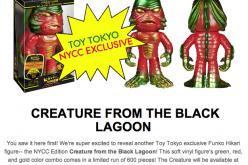 NYCC 2014 Exclusive Funko Toy Tokyo Creature From The Black Lagoon Hikari Figure