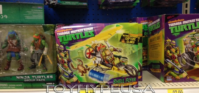 Nickelodeon Teenage Mutant Ninja Turtles Shell Flyer Hits Toy Shelves