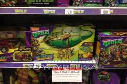 """Teenage Mutant Ninja Turtles Toys Buy 1, Get 1 40 Percent Off Sale At Toys """"R"""" Us"""