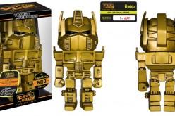 Transformers Booksamillion Exclusives 24K Optimus Prime And Bumblebee Hikari Sofubi Figures