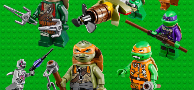 LEGO Teenage Mutant Ninja Turtles 20% Off Today At Entertainment Earth